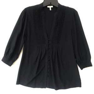 JOIE Black Silk Blouse Size X-Small